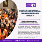 Profiling and Certification of GAD Resource Pool Batch 8