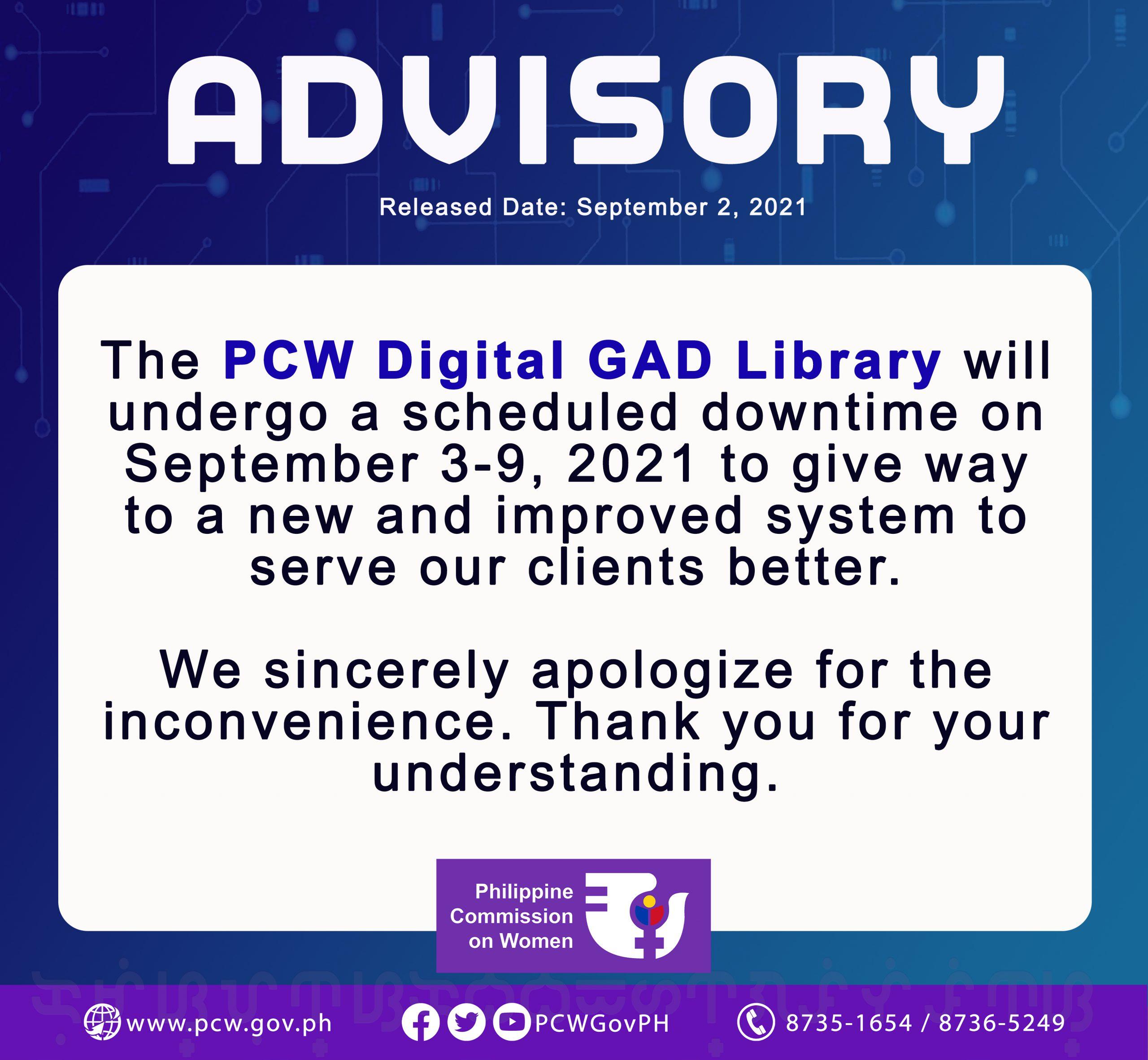 digital library advisory